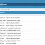 Boite email du portail de communication